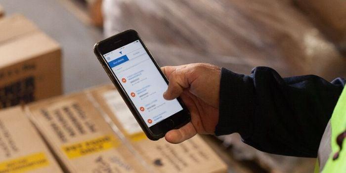 Blog - Warehouse scanning system
