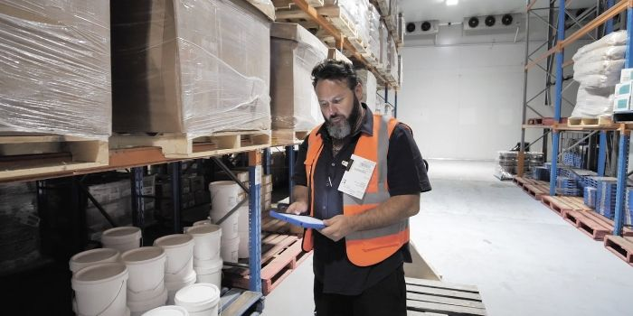 Blog - Warehouse stock control system