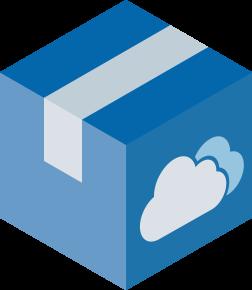 Carton Cloud Icon