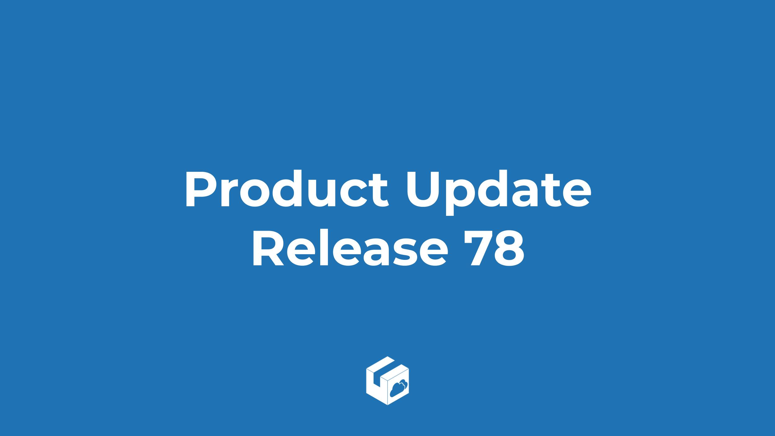 Release 78